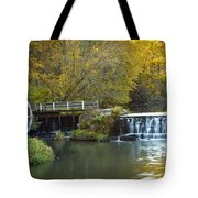 0291 Hyde's Mill Wisconsin Tote Bag