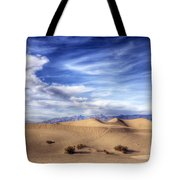 0292 Death Valley Sand Dunes Tote Bag