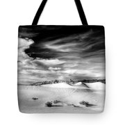 0293 Death Valley Sand Dunes Tote Bag