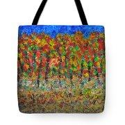 035 Fall Colors Tote Bag