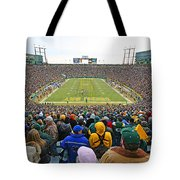0350 Lambeau Field Tote Bag