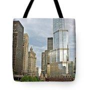 0359 Trump Tower Tote Bag