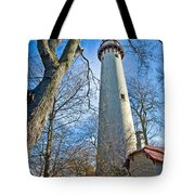 0378 Grosse Point Lighthouse Tote Bag