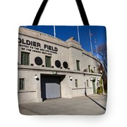 0417 Soldier Field Chicago Tote Bag by Steve Sturgill