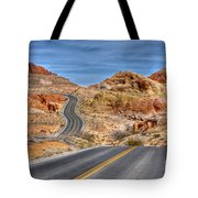 0445 Valley Of Fire Nevada Tote Bag