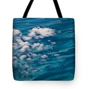 0458 Above The Caribbean Tote Bag