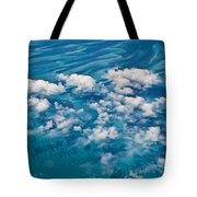 0459 Above The Caribbean Tote Bag