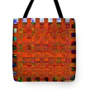 0493 Abstract Thought Tote Bag by Chowdary V Arikatla