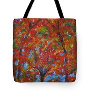 052 Abstract Thought Tote Bag