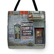 0605 Old Foundry Building Tote Bag