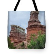 07.30.14 Palo Duro Canyon - Lighthouse Trail  19e Tote Bag