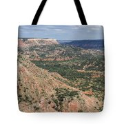 07.30.14 Palo Duro Canyon - Lighthouse Trail 5e Tote Bag