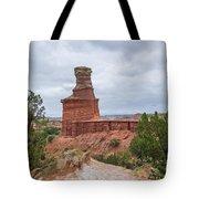 07.30.14 Palo Duro Canyon - Lighthouse Trail 62e Tote Bag