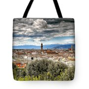 0753 Florence Italy Tote Bag
