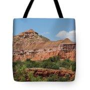 08.03.14 Palo Duro Canyon Rojo Grande Trail 10e Tote Bag