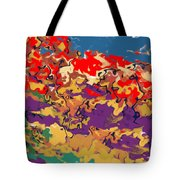 0806 Abstract Thought Tote Bag