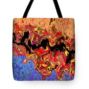 0809 Abstract Thought Tote Bag