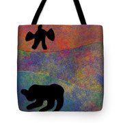 0864 Abstract Thought Tote Bag