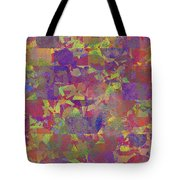 0866 Abstract Thought Tote Bag