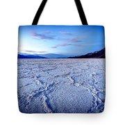 0919 Badwater Basin Tote Bag