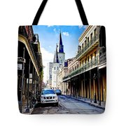 0928 St. Louis Cathedral - New Orleans Tote Bag