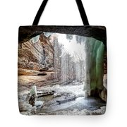 0938 Lasalle Falls - Starved Rock State Park Tote Bag