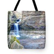 0940 Cascade Falls - Matthiessen State Park Tote Bag