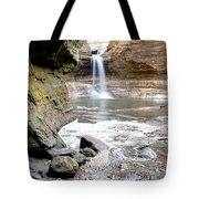 0941 Cascade Falls - Matthiessen State Park Tote Bag