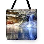 0943 Cascade Falls - Matthiessen State Park Tote Bag