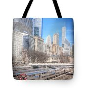 0945 Chicago Tote Bag