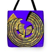 0985 Abstract Thought Tote Bag