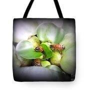 1 . 2 . 3 . Honeybees Tote Bag