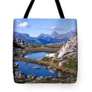 Artist Ridge Tarns Tote Bag