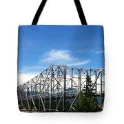 Bridge Of Gods Tote Bag