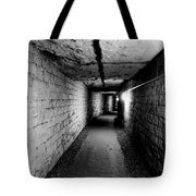Image Of The Catacomb Tunnels In Paris France Tote Bag