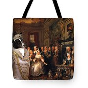 Karelian Bear Dog Art Canvas Print Tote Bag