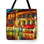 Paris Night Montmartre Tote Bag