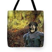 Tibetan Mastiff Art Canvas Print Tote Bag