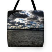 001 Grand Island Bridge Series Tote Bag