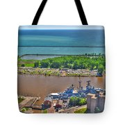 004 Visual Highs Of The Queen City Tote Bag