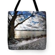 008 Grand Island Bridge Series Tote Bag
