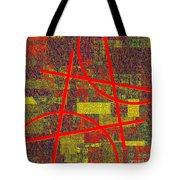 0225 Abstract Thought Tote Bag