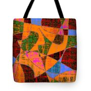 0267 Abstract Thought Tote Bag