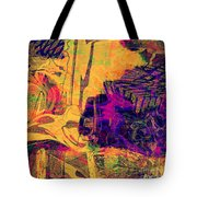 0548 Abstract Thought Tote Bag