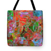 1306 Abstract Thought Tote Bag