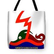 1924 - Austria Electricity Poster Advertisement - Color Tote Bag