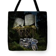 1924 Ace And Corrugated Water Tanks Tote Bag