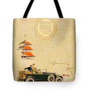 1925 - Lincoln Advertisement - Color Tote Bag