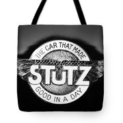 1925 Stutz Series 695h Speedway Six Torpedo Tail Speedster Emblem Tote Bag