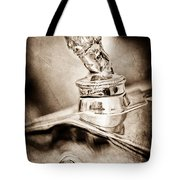 1927 Franklin Sedan Hood Ornament Tote Bag